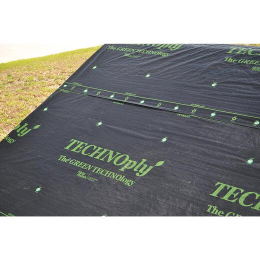 Rex Technoply 48 In. x 250 Ft. Gray Synthetic Roof Felt