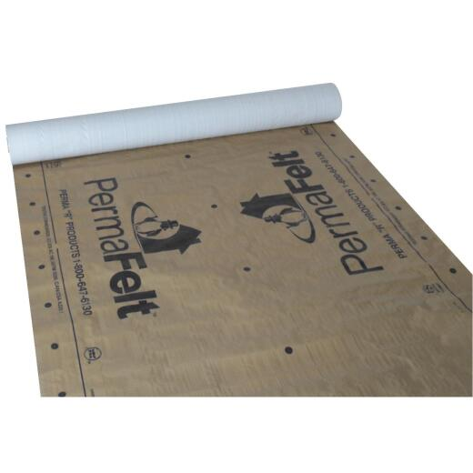 PermaFelt 48 In. x 250 Ft. Khaki Gold Synthetic Roof Felt