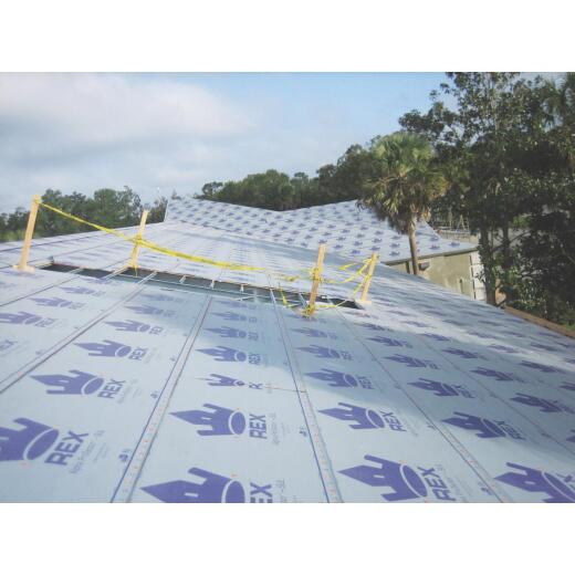 REX SynFelt 48 In. x 250 Ft. Light Gray Synthetic Roof Felt
